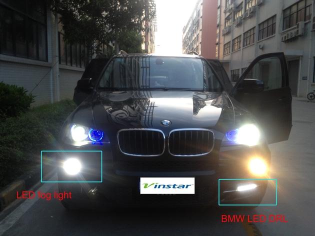 Żarówki LED , Markery 25 Wat - H8 przeciwmgielne lub do świateł dziennych DRL